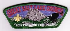 Great Salt Lake Council SA-241 2012 Philmont CSP Mint Condition FREE SHIPPING