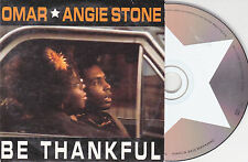 CD CARDSLEEVE OMAR ANGIE STONE BE THANKFUL 2 VERSIONS 2000