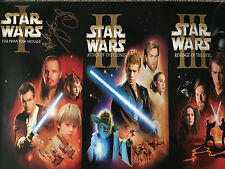 Star Wars Trilogy - 20x30 Poster - Signed by Ray Park - AFTAL