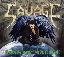 Sons Of Malice - Savage (2012, CD NUOVO)