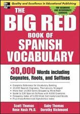 The Big Red Book of Spanish Vocabulary : 30,000 Words Including Cognates,...