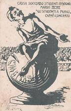 C1880) BOLOGNA 1902, CASSA SOCCORSO STUDENTI BISOGNOSI, CAFFE' CONCERTO.