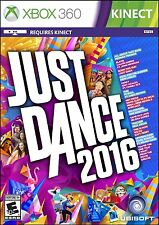 NEW Just Dance 2016 (Microsoft Xbox 360, 2015)