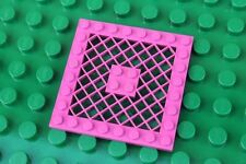 LEGO Model team pink plate 8x8 ref 4151 plaque grillagée rose
