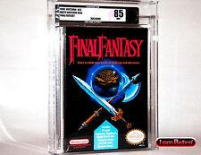 Final Fantasy Nintendo NES New Factory Sealed VGA 85 MINT SNES