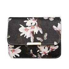 Women Ladies Bag Floral Handbag Leather Shoulder Bag Tote Satchel Messenger Hobo
