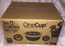 San Francisco Bay OneCup 80 Count Keurig K-cups French Roast Coffee 80 Count