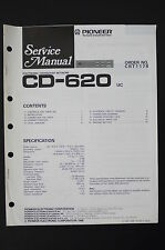 PIONEER cd-620 UC Electronic Crossover Network Service-Manual/schema elettrico o101