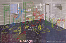 FUJIMI 1;24 SCALE GARAGE ACCESSORY KIT FOR MODEL CAR DIORAMA * UK STOCK * 110318