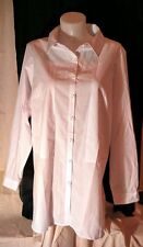 Ladies' White Box2 Helena Shirt Size UK 18-20 (EU 46-48) RRP £65