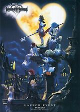 "Kingdom Hearts Boy 1 2 Game Fabric poster 17"" x 13"" Decor 45"