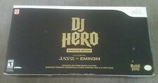 DJ Hero: Renegade Edition (Nintendo Wii, 2009)BRAND NEW SEALED NEVER OPENED