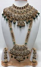 Bridal Jewellery Sets,Indian Bridal Bollywood Style 7 Piece Jewellery Set