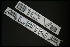 NEW AlPINA B10 V8 EMBLEM BADGE LOGO FOR BMW 5-Series E34 E39 E60 E61 F10 F11
