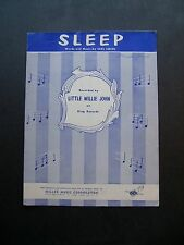 Sleep by Little Willie John sheet music