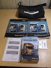 Freightliner FLD Conventional Driver's Manual Set STE-329 STI-203 In Bag