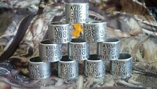 10 Avise Goose bands bird bands free shipping goose band duck bands