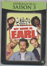 NEUF 4 DVD MY NAME IS EARL INTEGRALE SAISON 3 SOUS BLISTER SERIE TV