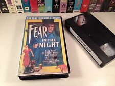Fear In The Night Classic Film Noir Thriller VHS '47 Paul Kelly Deforest Kelley