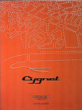 Aston Martin Cygnet 2010-11 UK Market Sales Brochure