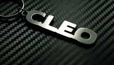 CLEO Personalised Name Keyring Keychain Key Fob Bespoke Stainless Steel Gift