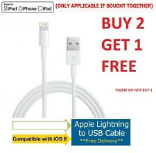 USB Lead Sync Charge Data Charger Cable For iPhone 6 5 5 5s iPad Mini Air 2 io10