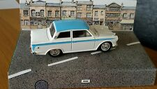 1:43 Corgi Rare White / Blue Ford Lotus Cortina Mk1 Model Car Code 3 A 1 Off