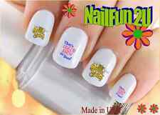 "RTG Set#584 IMAGE ""Queen Bitch"" WaterSlide Decals Nail Art Transfers Salon Nails"