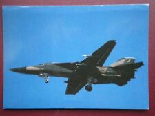 POSTCARD AIR F-111E SWING WING AIRCRAFT OF 20 TFW