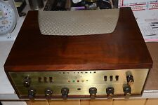FISHER X-202-B STEREO VACUUM TUBE INTEGRATED AMPLIFIER PRO SERVICED