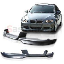07-10 BMW E92 Coupe 328 335 Mtech DTM Front Bumper Lip Polyurethane