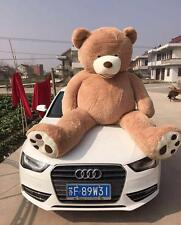 """Hot / 200cm Super Huge Teddy Bear (Only Cover) Plush Toy Shell (With Zipper) 79"""""""