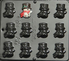 Snowman Chocolate Candy Mold Christmas  2025 NEW