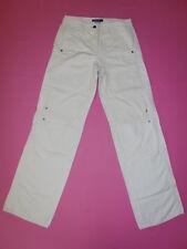 MARCCAIN  Marc Cain Hose Jeans Leinen Size N2 Gr.36 L34 beige