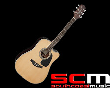 RRP$599 Takamine ED3DCNAT Dreadnought Acoustic Electric Guitar Natural Finish
