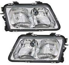 clear headlight set front LIGHTS for AUDI A3 8L left - right H7 H1 with LWR