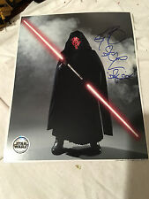 RAY PARK SIGNED AUTOGRAPHED 8x10 PHOTO DARTH MAUL STAR WARS