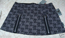 NWT - Tripp - Hot Topic - Black & White Star Patterned Skirt - Sz XS - Juniors