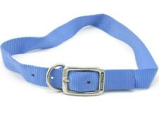 "HAMILTON ST Nylon Dog Collar, 26"" x 1"", Berry Blue"