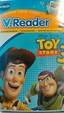 TOY STORY 3 VTech - VReader Software Disney Pixar Ages 3-5 80-280100 NEW
