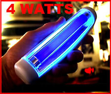 BLAZING BLACKLIGHT 6 INCH HANDHELD POWERFUL BRIGHT UV, 4 Watts, genuine G.E.