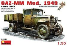 CAMION SOVIETIQUE GAZ-MM 1,5 T. CARGO + 1 figurine - KIT MINIART 1/35 n° 35134