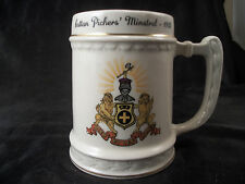Mug cup Cotton Pickers Minstrel 1955 coat of arms lions Balfour coffee tea art