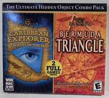 Lost Secrets Caribbean Explorer & Bermuda Triangle PC Game CD-Rom Hidden Objects
