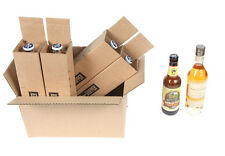 4 Bottle  375 ml wine, beer, Shipping Box SpiritedShipper.com boxes