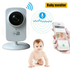 IP Wireless Wifi Baby Monitor Night Vision 2-Way Audio Camera for iOS & Android