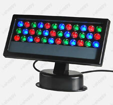 36W LED RGB Light DMX Outdoor Garden Stage Floodlight Wall Washer Lamp Landscape