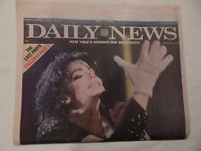 "DAILY NEWS FRIDAY, JUNE 26, 2009 ""KING OF POP DEAD"" MICHAEL JACKSON DEAD"