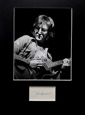 JOHN LENNON  signed autograph PHOTO DISPLAY The Beatles