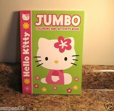 HELLO KITTY Coloring and Activity Book Green  NEW